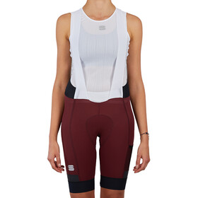 Sportful Supergiara Cuissard à bretelles Femme, red wine